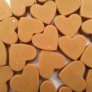 Vonné vosky od Marty: Srdce ze skořice